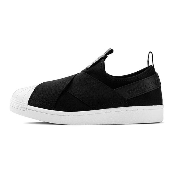 Tenis-adidas-Superstar-Slip-On-Feminino-Preto