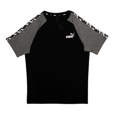 Camiseta-Puma-Amplified-Raglan-Masculina-Preta