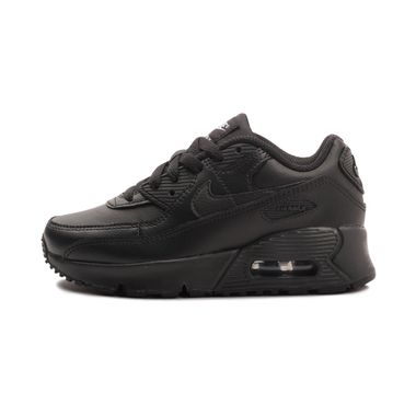 Tenis-Nike-Air-Max-90-Leather-PS-Infantil-Preto
