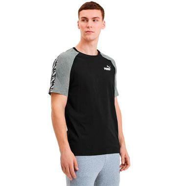 Camiseta-Puma-Amplified-Raglan-Masculina-Multicolor