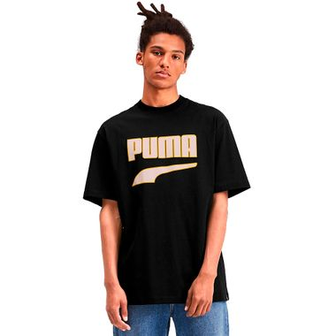Camiseta-Puma-Downtown-Graphic-Preta