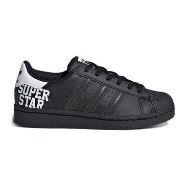 Tenis-adidas-Superstar-PS-Infantil-FV375-0-001-Preto