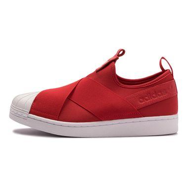 Tenis-adidas-Superstar-Slip-On-Feminino-Vermelho