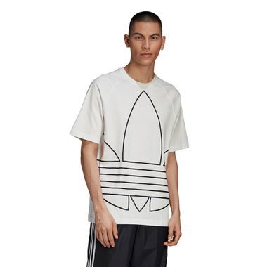 Camiseta-adidas-Big-Trefoil-Outline-Masculina-Branco
