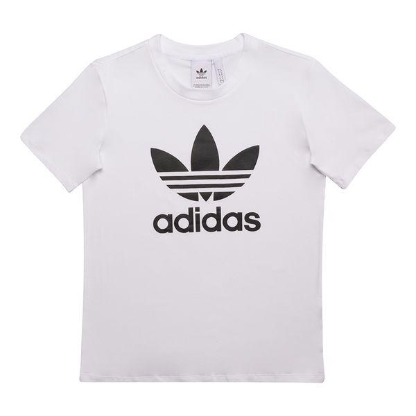 Camiseta-adidas-Originals-Trefoil-Feminina-Branca