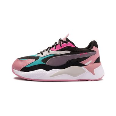 Tenis-Puma-Rs-X³-City-Attack-PS-Infantil-Multicolor
