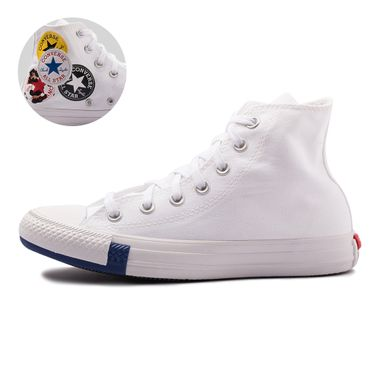 Tenis-Converse-Chuck-Taylor-All-Star-Logo-Play-Hi-Branco
