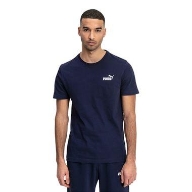 Camiseta-Puma-Ess-Small-Logo-Infantil-Azul