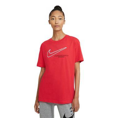 Camiseta-Nike-Swoosh-Feminina-Vermelha