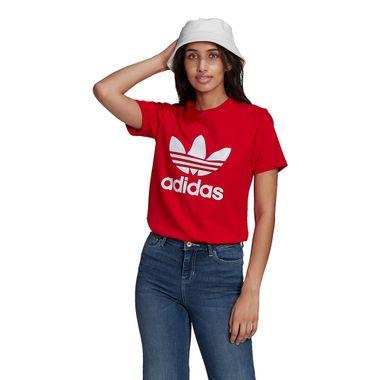 Camiseta-adidas-Adicolor-Classics-Trefoil-Feminina-Vermelha