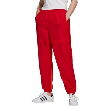 Calca-adidas-Adicolor-Sliced-Trefoil-Japona-Feminina-Vermelha