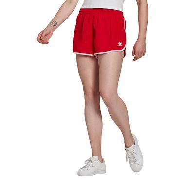Shorts-adidas-3-Stripes-Feminino-Vermelho