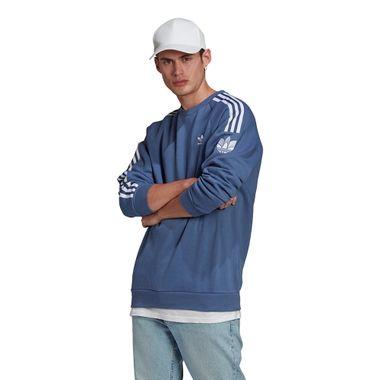 Blusa-adidas-3D-Trefoil-Masculina-Azul