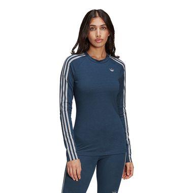 Camiseta-adidas-Originals-Ls-Feminina-Azul