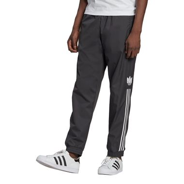 Calca-adidas-3D-Trefoil-3-Stripes-Masculina-Cinza