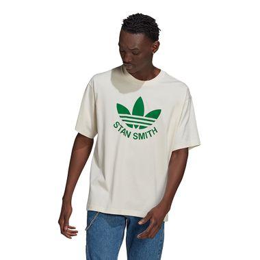 Camiseta-adidas-Trefoil-Stan-Masculina-Branco
