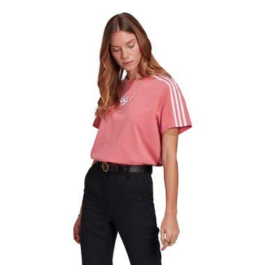 Camiseta-adidas-Loose-Feminina-Rosa