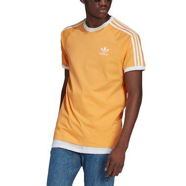 Camiseta-adidas-3-Stripes-Masculina-Amarelo