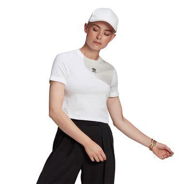 Camiseta-adidas-Crop-Feminina-Branco