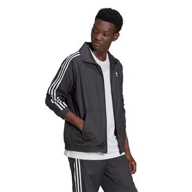 Jaqueta-adidas-3D-Trefoil-3-Stripes-Masculina-Cinza