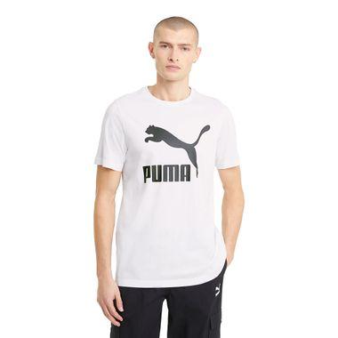 Camiseta-Puma-Classic-Logo-Masculina-Branca