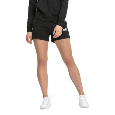 Shorts-Puma-ESS-Sweat-Shorts-TR-Feminino-Preto