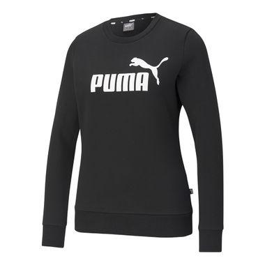 Blusa-Puma-Essentials-Logo-Feminina-Preta