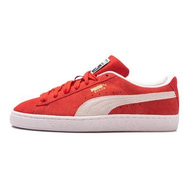Tenis-Puma-Suede-Classic-Xxi-Gs-Infantil-Vermelho