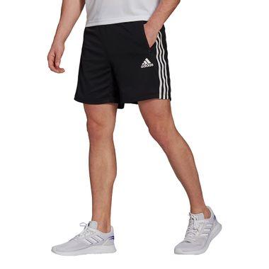 Shorts-adidas-Primeblue-3-Stripes-Masculina-Preto