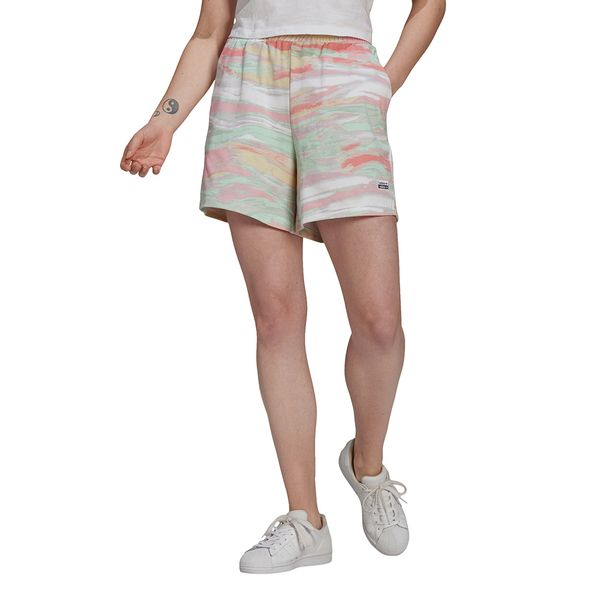 Shorts-adidas-Reveal-Your-Voice-Feminino-Multicolor