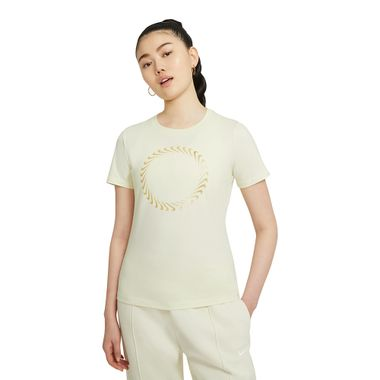 Camiseta-Nike-Sportswear-Feminina-Bege