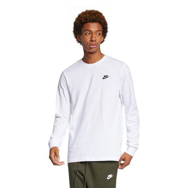Camiseta-Manga-Longa-Nike-Embroidered-Masculina-Branca