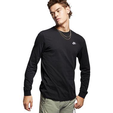 Camiseta-Manga-Longa-Nike-Embroidered-Masculina-Preta