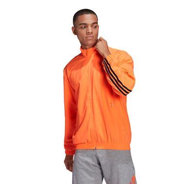 Jaqueta-adidas-Sprt-3-Stripes-Masculina-Laranja