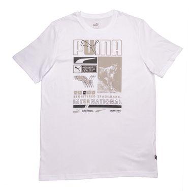 Camiseta-Puma-Box-Masculina-Branca