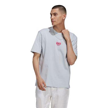 Camiseta-adidas-3D-Trefoil-Masculina-Cinza