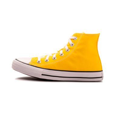 Tenis-Converse-Chuck-Taylor-All-Star-Hi-PS-Infantil-Amarelo
