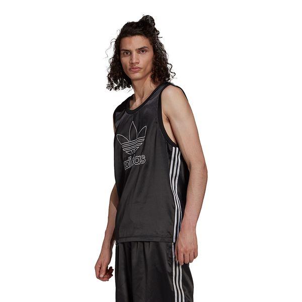 Regata-adidas-Cetim-Adicolor-Trefoil-3-Stripes-Masculina-Preta