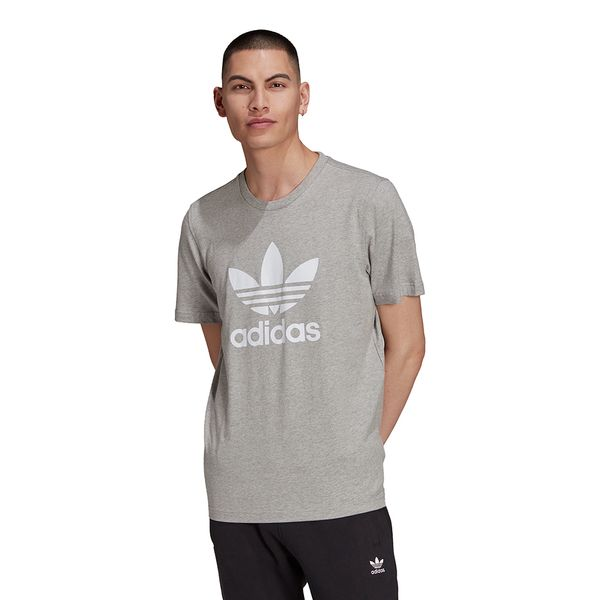 Camiseta-adidas-Adicolor-Classics-Trefoil-Masculina-Cinza