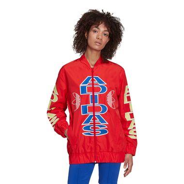 Jaqueta-adidas-Collegiate-Feminina-Vermelha