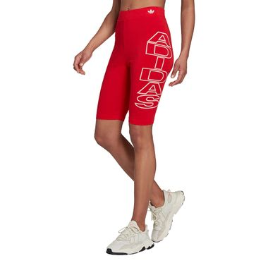 Legging-adidas-Letter-Feminina-Vermelha