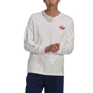 Camiseta-adidas-Manga-Longa-Funny-Dino-Masculina-Branco