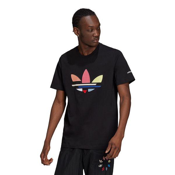 Camiseta-adidas-Adicolor-Trefoil-Masculina-Preta