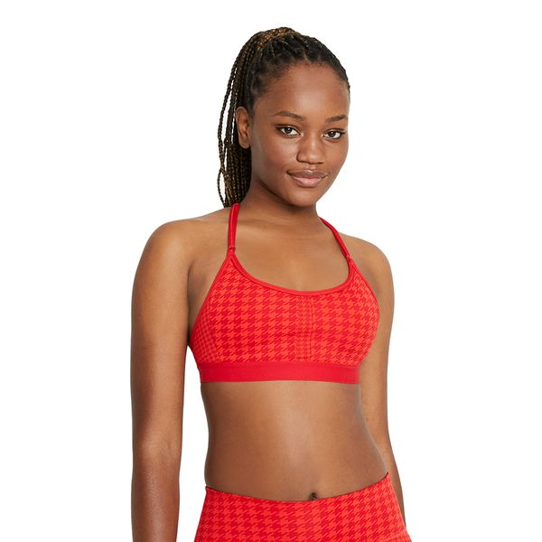 Top-Nike-Dri-fit-Indy-Icon-Clash-Feminino-Vermelho