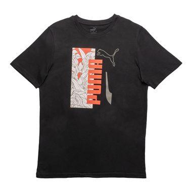 Camiseta-Puma-Summer-Vibe-Masculina-Preta