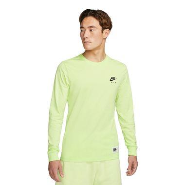 Camiseta-Manga-Longa-Nike-Mesh-Air-Masculina-Verde