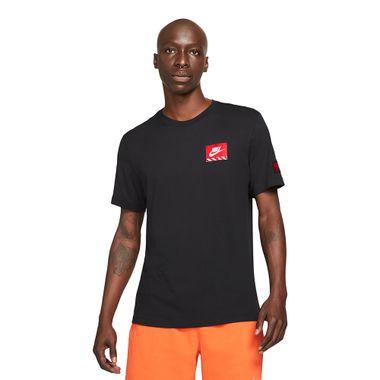 Camiseta-Nike-Mech-Air-Figure-Masculina-Preta