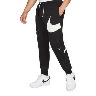 Calca-Nike-Swoosh-Semi-Brushed-Back-Masculina-Preta