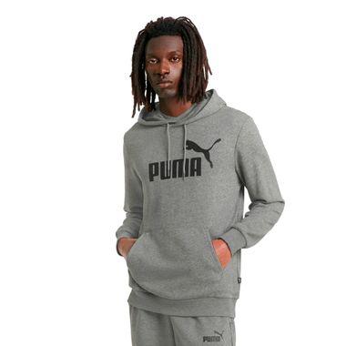 Blusa-Puma-Ess-Big-Logo-Masculina-Cinza