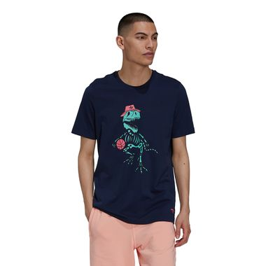 Camiseta-adidas-Funny-Dino-Masculina-Azul